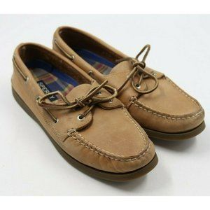 Sperry Top Sider Ladies Leather Loafers Shoes 8M